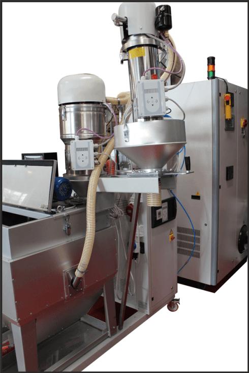 grinding of plastics