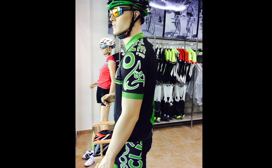 negozio per ciclisti