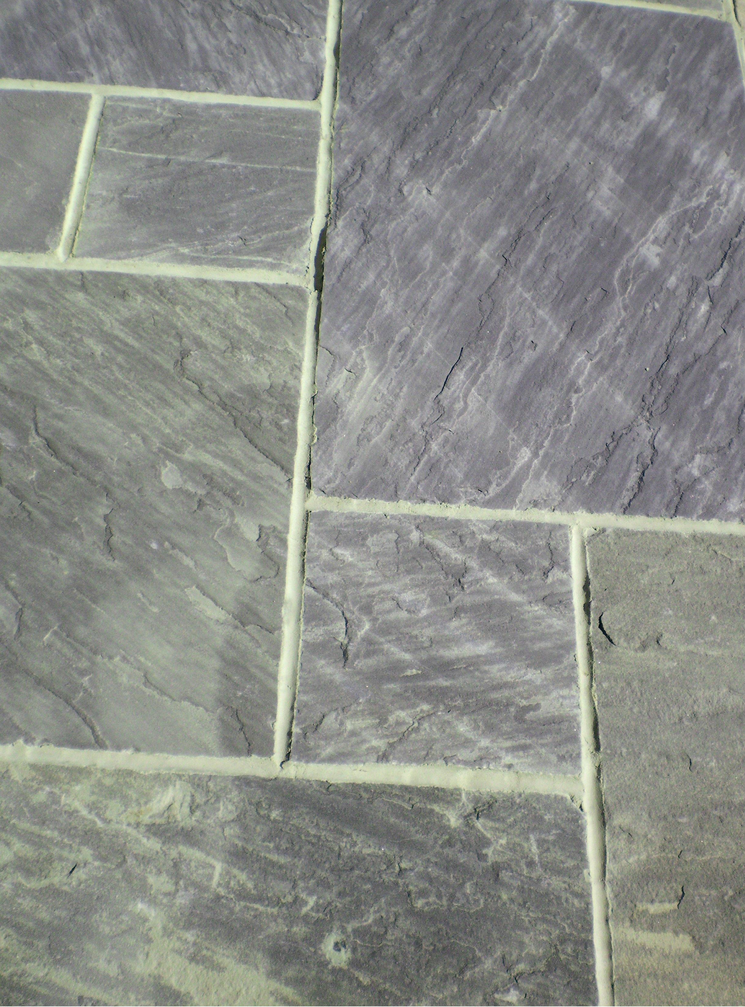 Midnight Grey Indian Sandstone In Broadbridge Heath