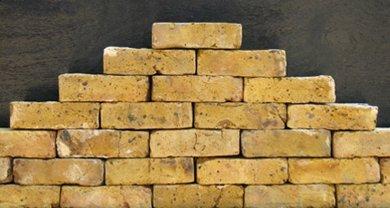 Front View of Tudor bricks