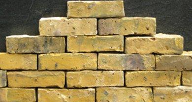 Closer view of Victorian bricks