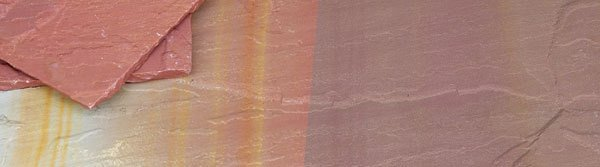 natural stone rainbow