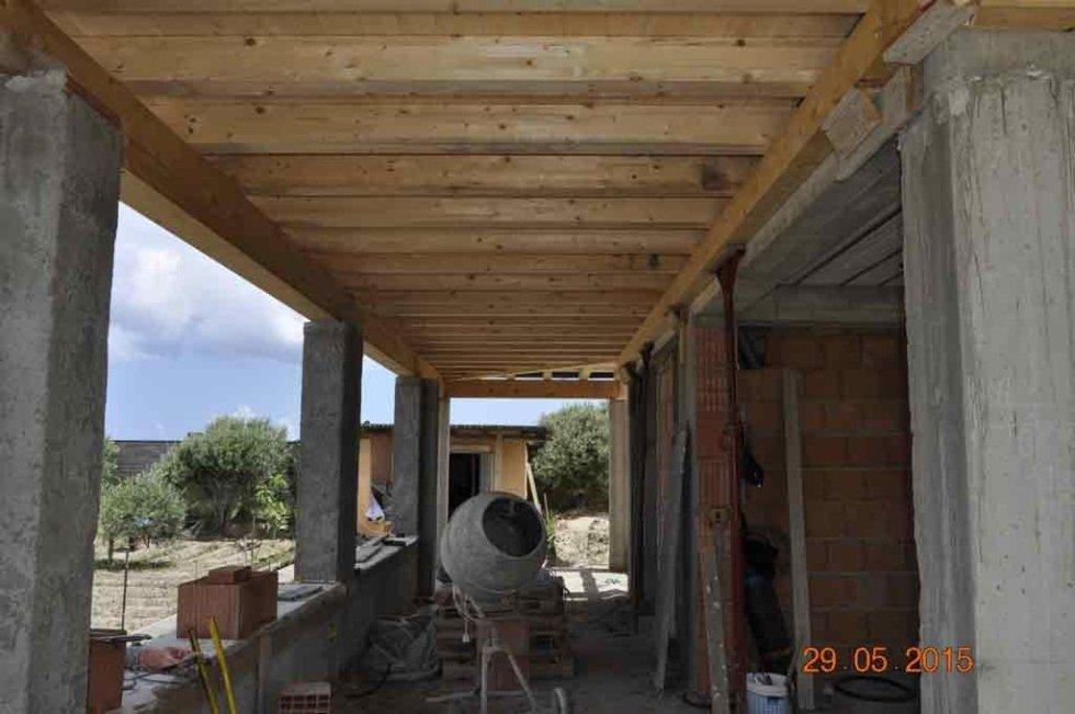 Piano calpestabile in legno lamellare