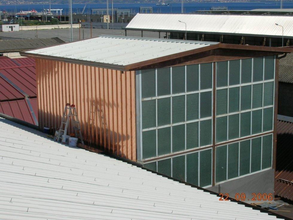 Produzione e installazione articoli di lattoneria for Installazione di condotte idriche in rame