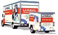 U-haul with trailer