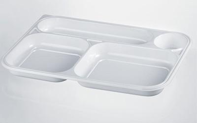 vassoi di plastica