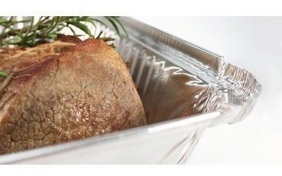 vendita vassoi in alluminio per alimenti