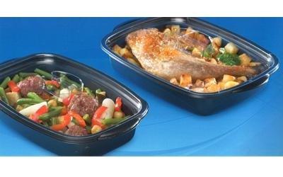 vaschette di plastica per alimenti