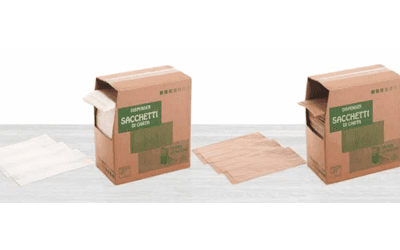 vendita sacchetti di carta per alimenti