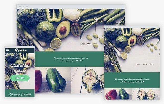 Reddrop Media Nutrition Advisor Template