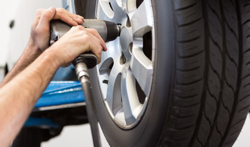 Tire installation provided by professional in Cleves