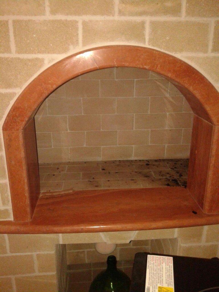 caminetto marmo