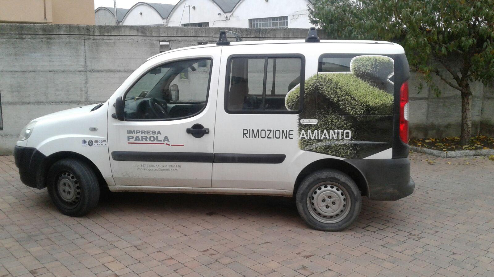 mezzo per rimozione amianto