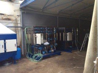 impianto di aspirazione liquidi
