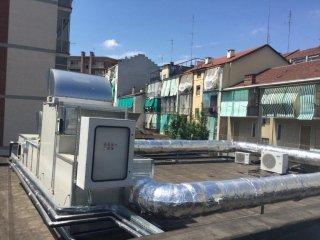 impianto trattamento aria per palestra