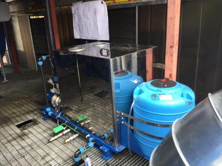 impianto aspirazione liquidi