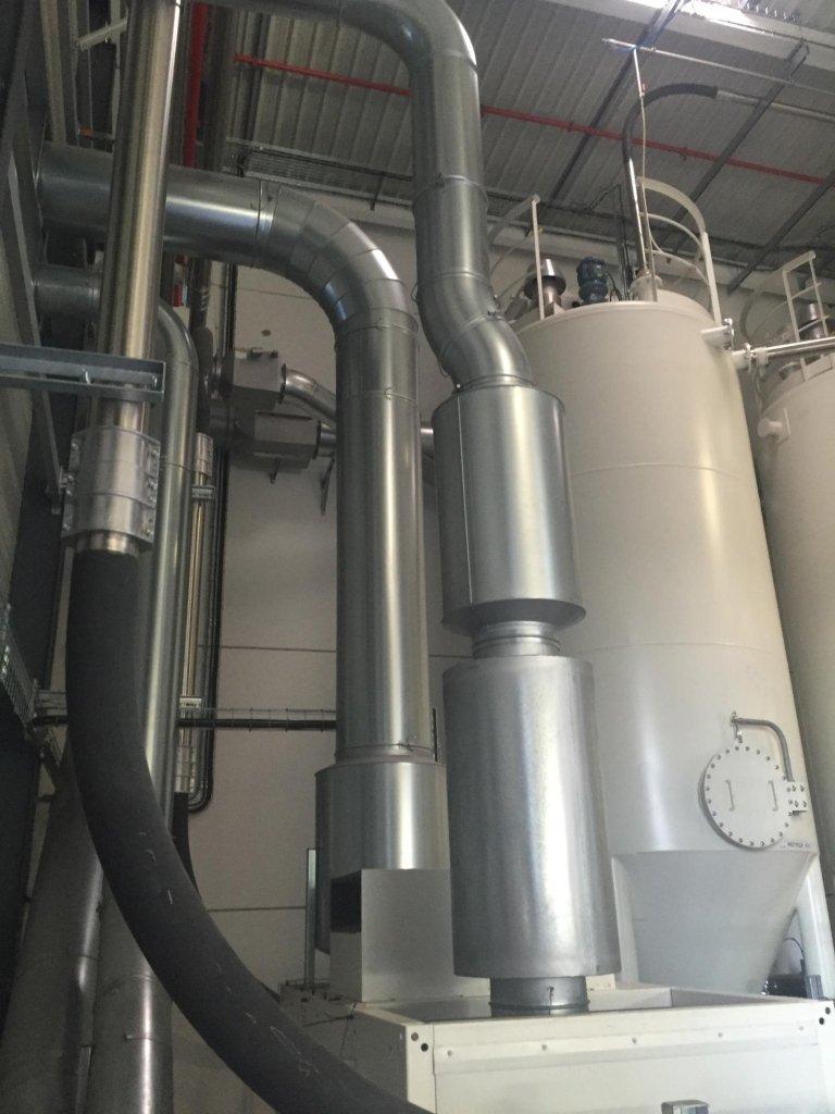 Montaggio filtro aspirazione su cilindri