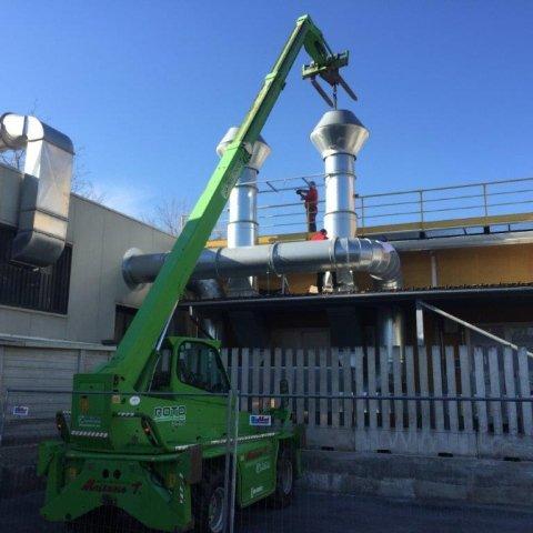 installazione canne fumaria uvex