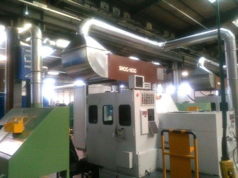 Allacciamento tubazione macchina operatrice a linea principale