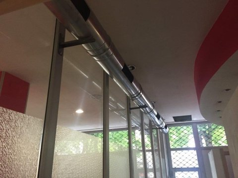 installazione impianto aspirazione aria