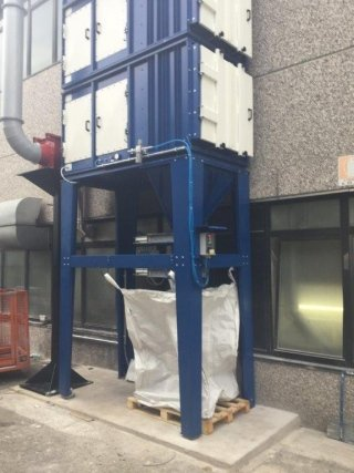 installazione impianti industriali aspirazione polveri