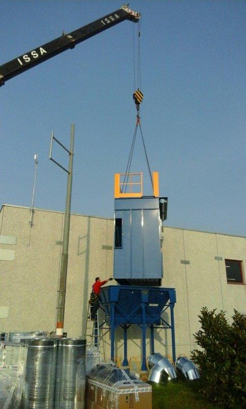 installazione impianto filtrazione aria