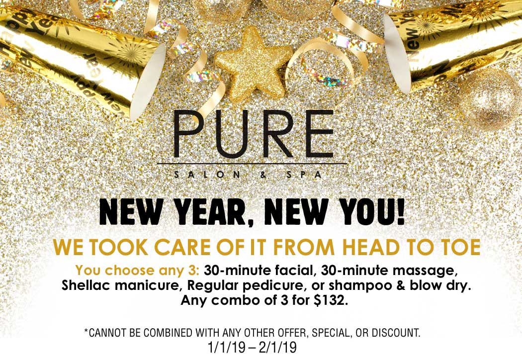Promotions Special Offers Pure Salon Amp Spa