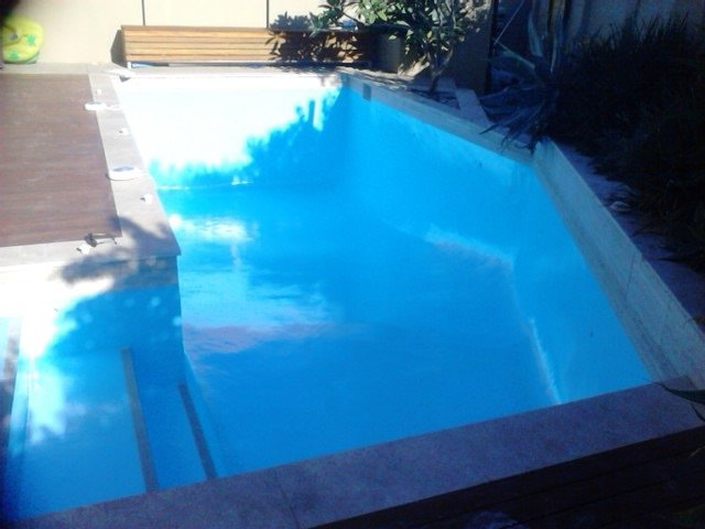 small backyard pool in perth