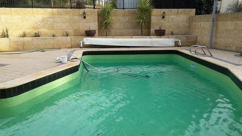 kalamunda pool before restoration