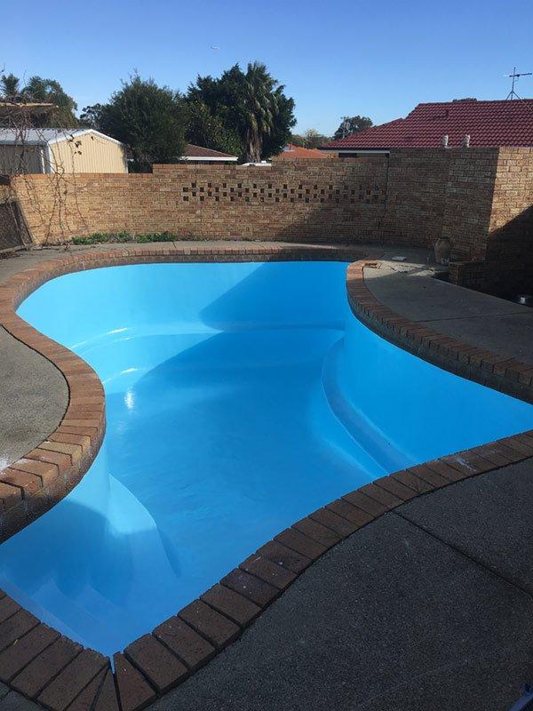 custom shaped pool in perth