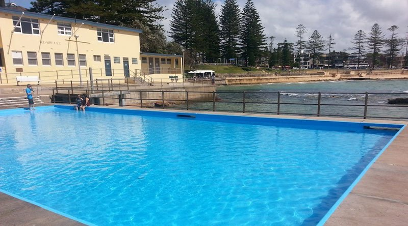 outdoor swimming pool after maintenance in perth