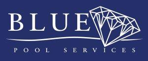blue diamond pool services logo