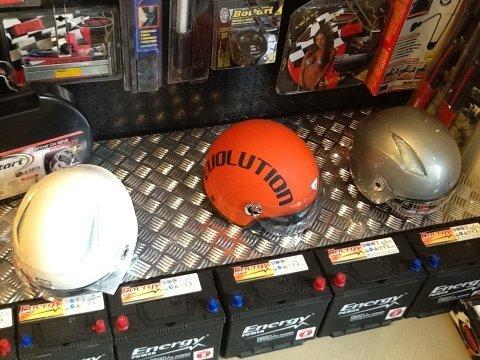 caschi e accessori moto