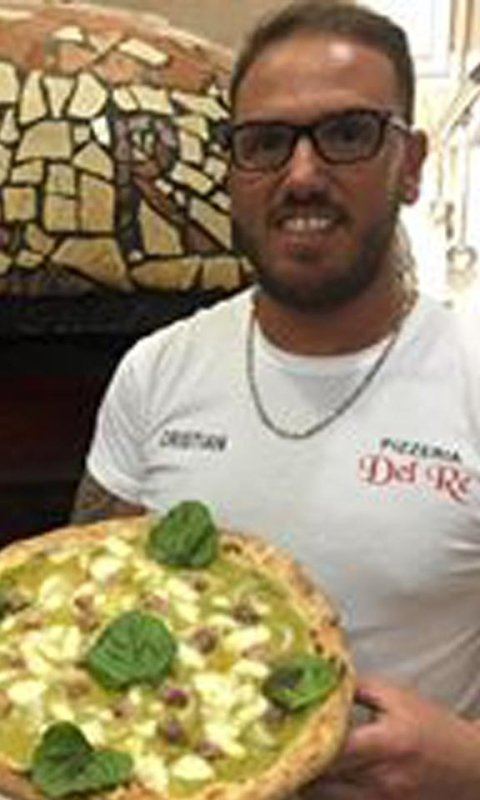 pizza crema di piselli