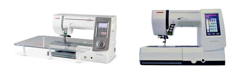 macchine cucire con monitor