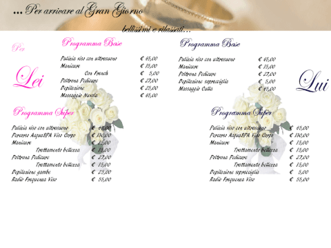 promozione sposi