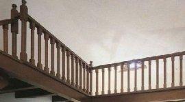 parapetti scale in legno