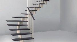 scale in  legno ed alluminio