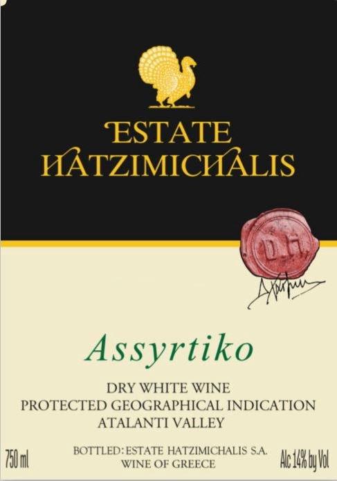 Assyrtiko Hatzimichalis