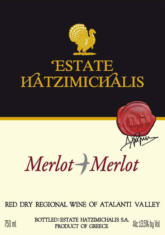 Merlot + Merlot Hatzimichalis