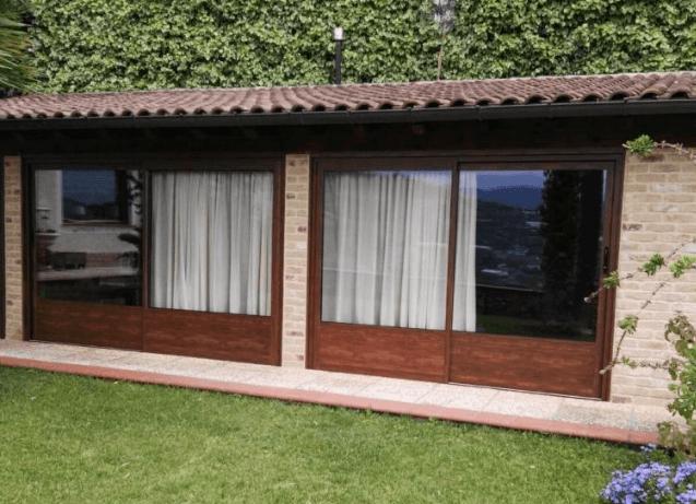 persiane e finestre in pvc e legno