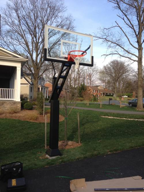 pro dunk hoops. Pro Dunk Inground Basketball Goal Installation Services In DC Hoops J
