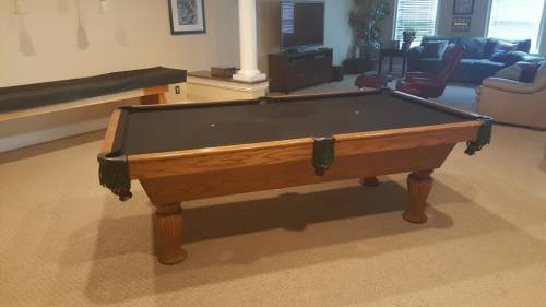 pool table assembly  disassembly  moving and reassembly
