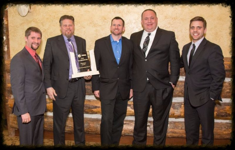 Montgomery Heating & Aire Recieves The Soar Award from Trane