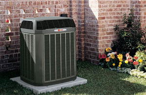 An HVAC unit installed in the Mountain Home, AR, area