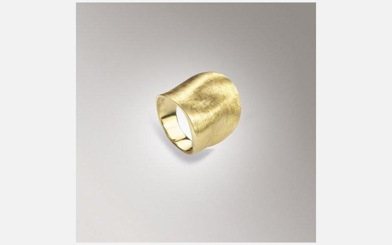 anello oro giallo Lunaria