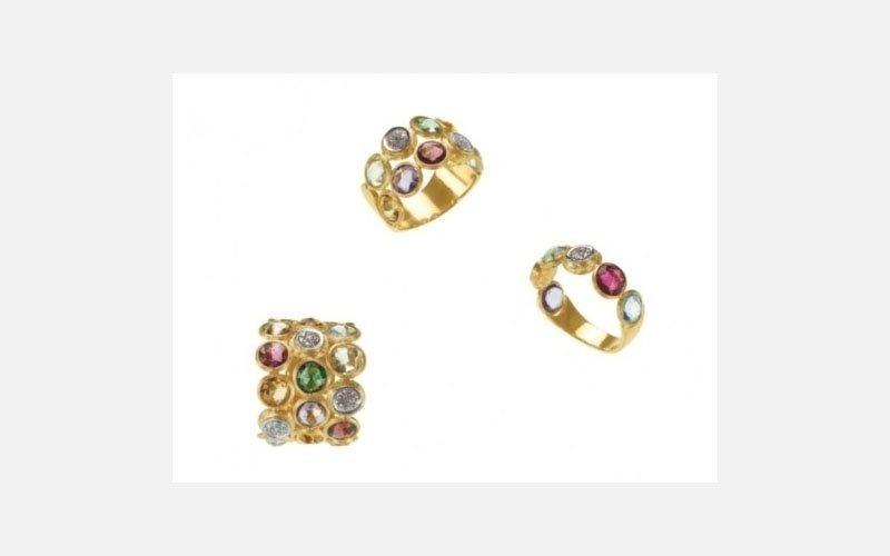 anelli oro - linea jaipur