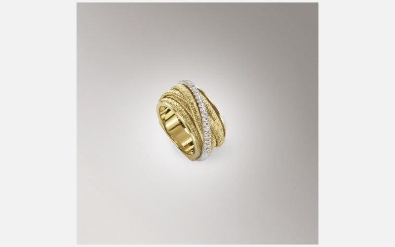 anello oro giallo Linea il Cairo