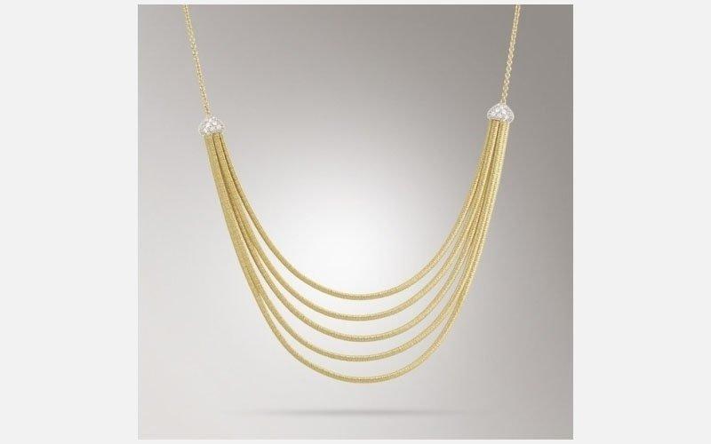 collana oro giallo linea il cairo