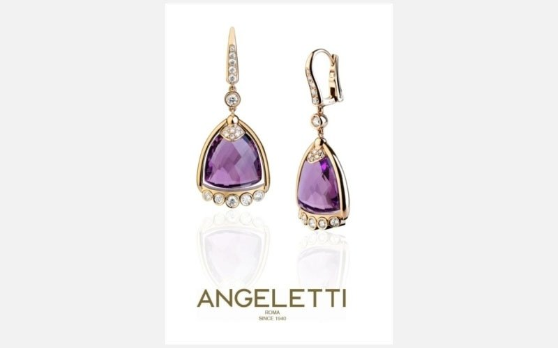 ell earrings ametist
